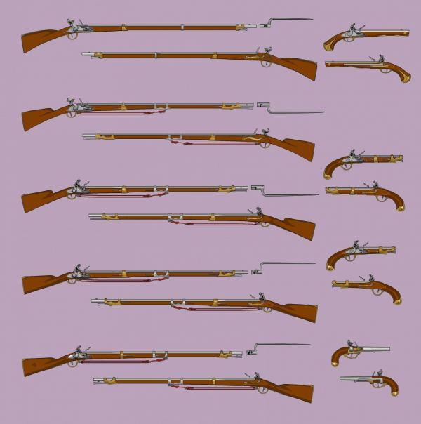 67 les armes a feu