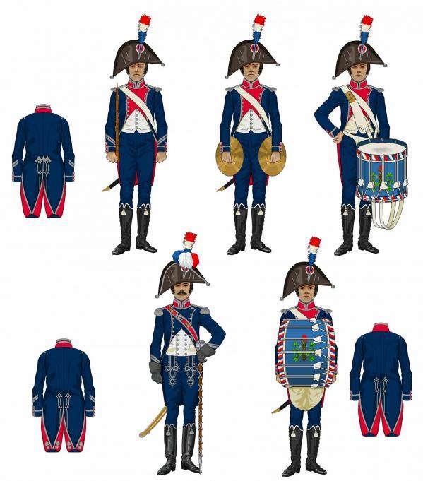 Musique de la 14e demi brigade 1798 1801